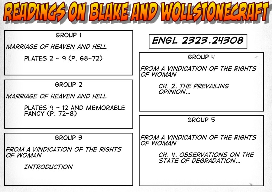 24308-Readings on Blake and Wollstonecraft