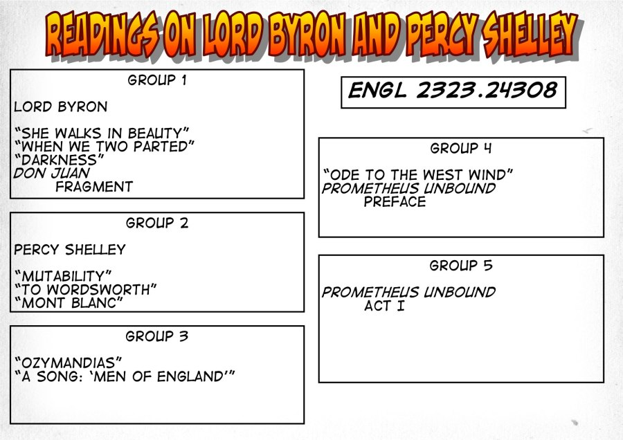 24308-Readings on Byron and Shelley