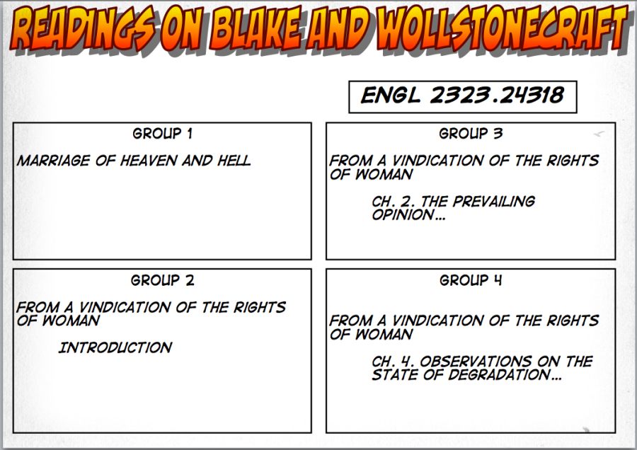 24318-Readings on Blake and Wollstonecraft