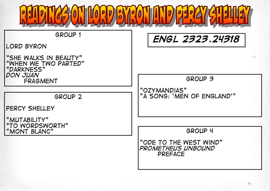 24318-Readings on Byron and Shelley