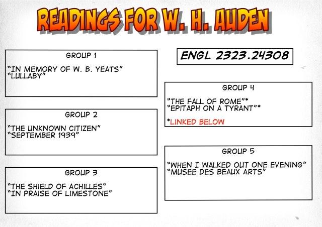 24308-Readings on Auden