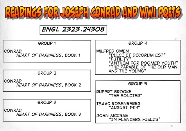 24308-Readings on Conrad and WWI