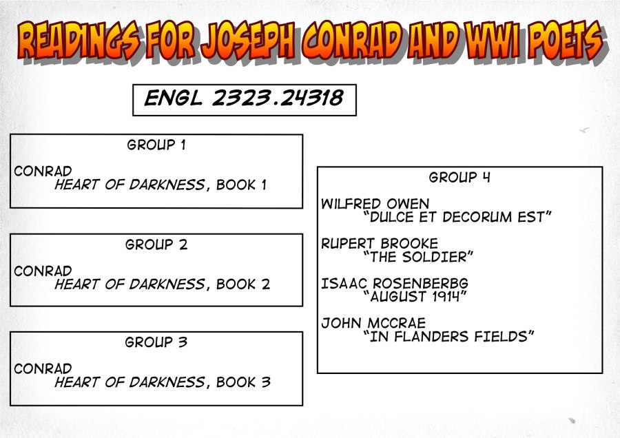 24318-Readings on Conrad and WWI