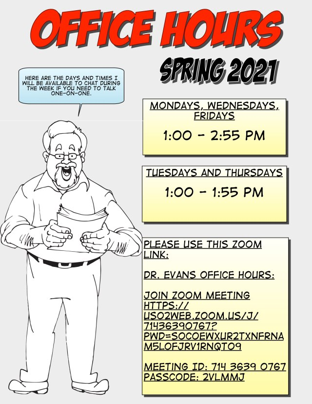 Spring 2021-OfficeHours